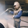 Abrasive Flow Cleaning of Surface